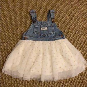 Oshkosh Bgosh Tulle Skirt Dress 18 Months Vestbak